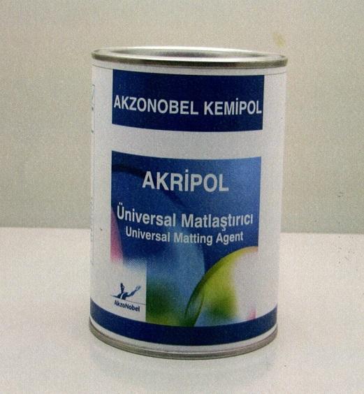 Akripol Yeni Ürün: Üniversal Matlaştırıcı