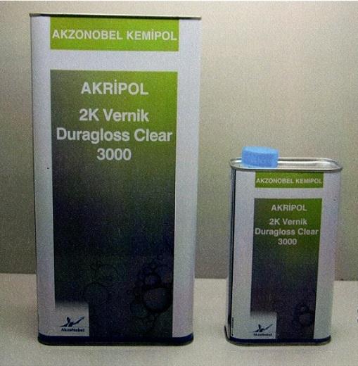 Akripol Yeni Ürün: Duragloss Clear 3000 Vernik
